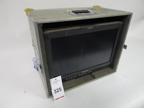 Panasonic BT-LH1700WE 17inch Professional Video Monitor with Flight Case