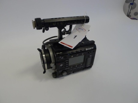Sony PMW F55 Solid State Memory Camcorder Body, Serial No. 100136, 3087 Hours.