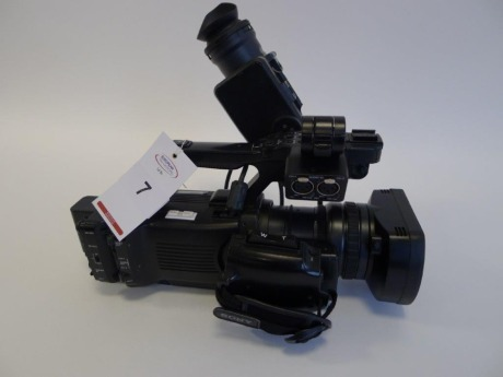 Sony PMW 300 Solid State Memory Camcorder, Serial No. 431460, 1345 Hours.