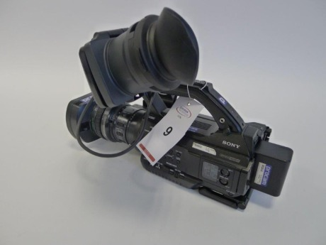 Sony PMW 300 Solid State Memory Camcorder, Serial No. 400354, 1928 Hours.