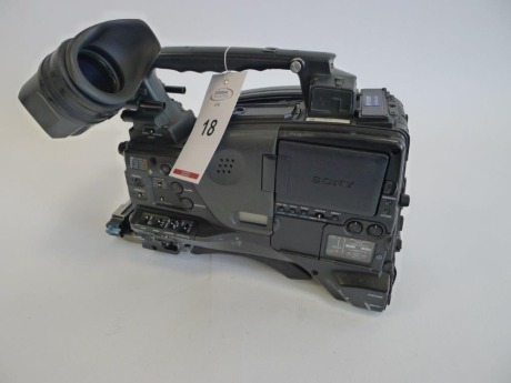 Sony PDW-F800 Professional Disc Camcorder, Serial No. 60136, 2876 Hours.