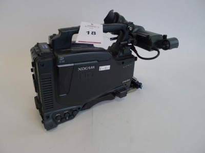 Sony PDW-F800 Professional Disc Camcorder, Serial No. 60136, 2876 Hours. - 2