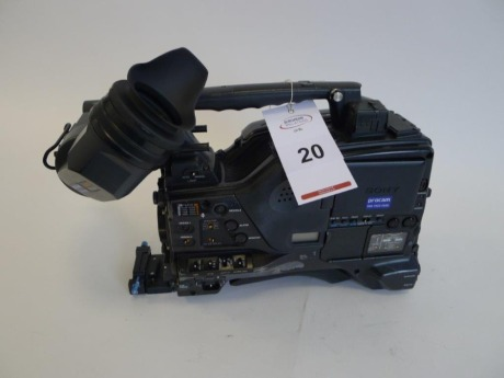 Sony PDW-F800 Professional Disc Camcorder, Serial No. 106696, 5264 Hours.