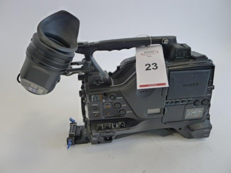Sony PDW-F800 Professional Disc Camcorder, Serial No. 60297, 3206 Hours
