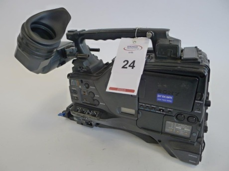 Sony PDW-F800 Professional Disc Camcorder, Serial No. 60288, 3160 Hours