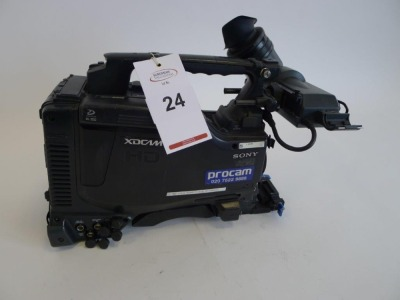 Sony PDW-F800 Professional Disc Camcorder, Serial No. 60288, 3160 Hours - 2