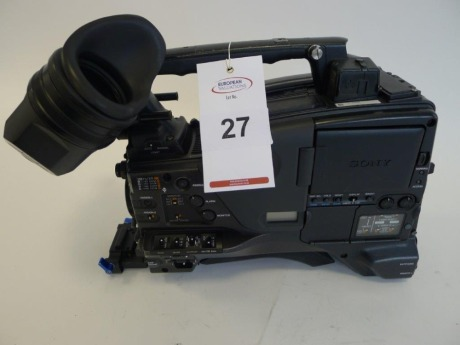 Sony PDW-F800 Professional Disc Camcorder, Serial No. 60249, 4355 Hours
