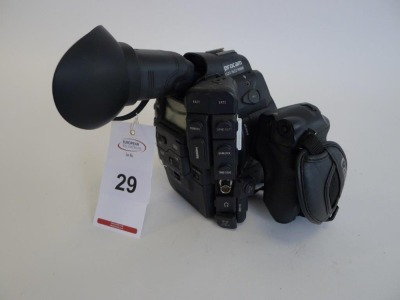 Canon EOS C300 Cinema Camera, Serial No. 534000000000, 2662 Hours, with monitor - 2