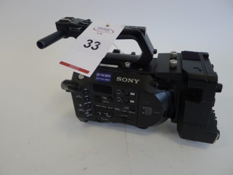 Sony PXW-FS7 Solid State Memory Camcorder Body with Sony XDCA-FS7 Extension Unit, Serial No. 36873, 2429 Hours