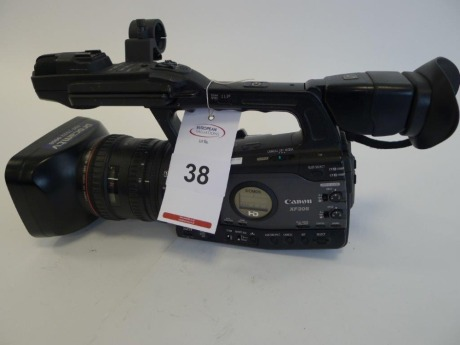 Canon XF305E Professional HD Camcorder, Serial No. 264000000000, 1005 Hours