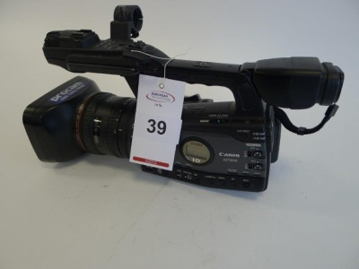 Canon XF305E Professional HD Camcorder, Serial No. 263000000000, 2415 Hours