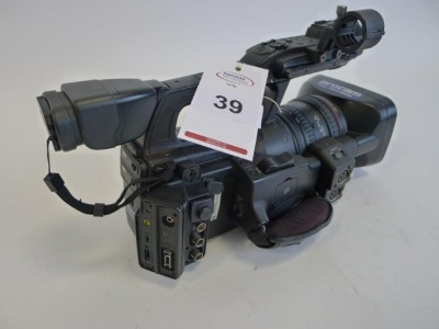 Canon XF305E Professional HD Camcorder, Serial No. 263000000000, 2415 Hours - 2