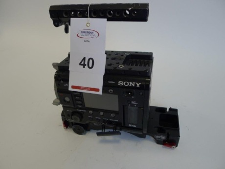 Sony PMW F55 Solid State Memory Camcorder Body, Serial No. 100198, 3957 Hours