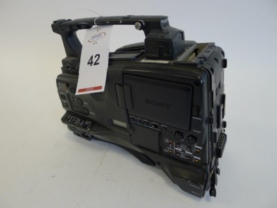Sony PDW-F800 Professional Disc Camcorder, Serial No. 60224, 1436 Hours