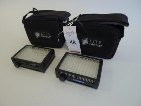 2 Litepanels Micro-Pro LED Camera Lights