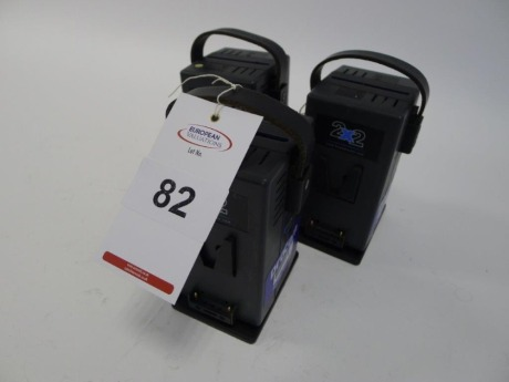 3 Hawk Woods VL-2X2P V-Lock Dual Battery Chargers